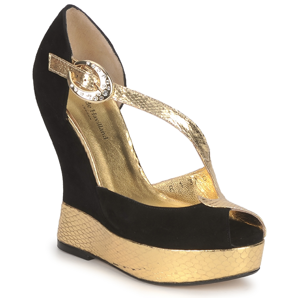 Terry de Havilland PENNY BLACK-GOLD