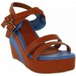Sandalias Urban Sandalias de Mujer  B040860-B7200 CAMEL-BLUE