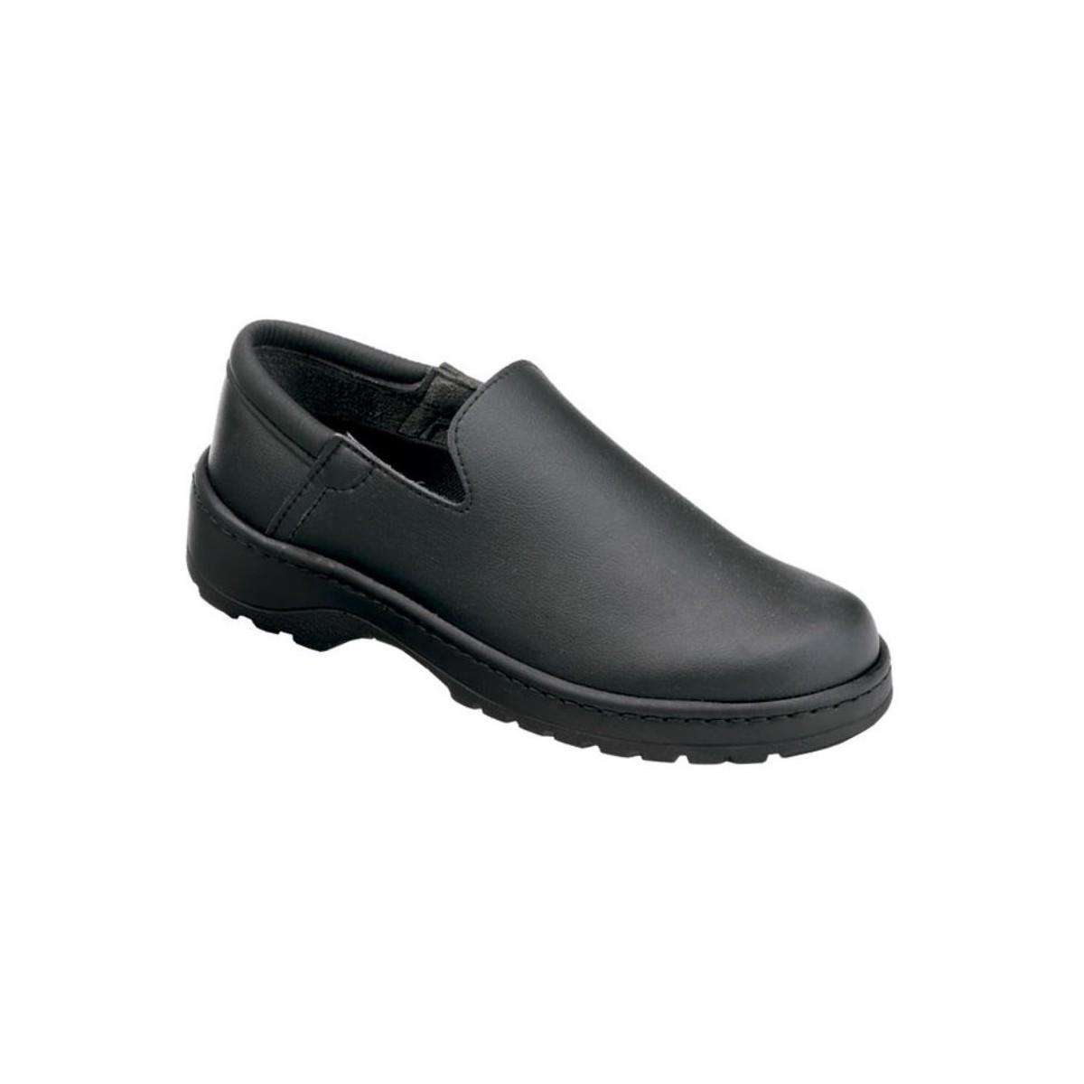 Mocas n calzamedi zapatos sanitarios zuecos unisex negro for Sanitarios negros