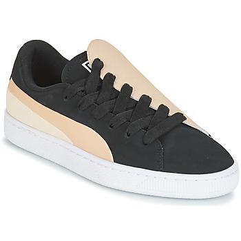 Zapatos Mujer Zapatillas bajas Puma WN BASKET CRUSH PARIS.SILV Negro