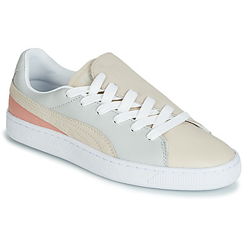 Zapatos Mujer Zapatillas bajas Puma WN BASKET CRUSH PARIS.GRAY Beige