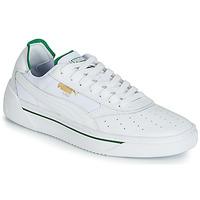 Zapatos Hombre Zapatillas bajas Puma CALI.WH-AMAZON GREEN-WH Blanco / Verde