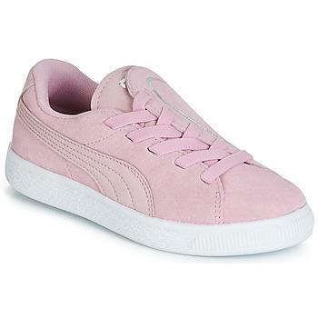 Zapatos Niña Zapatillas bajas Puma PS SUEDE CRUSH AC.LILAC Lila