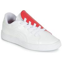 Zapatos Niña Zapatillas bajas Puma PS BKT CRUSH PATENT AC.W-H Blanco