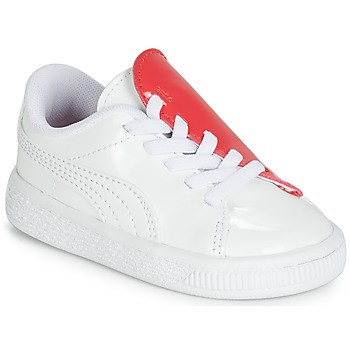 Zapatos Niña Zapatillas bajas Puma INF B CRUSH PATENT AC.W-H Blanco