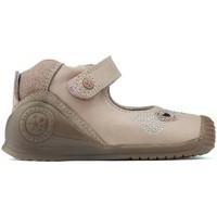 Zapatos Niña Bailarinas-manoletinas Biomecanics LETINAS  HEARTS PINK