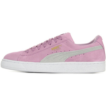 Zapatos Niña Zapatillas bajas Puma Suede Classic Jr Violeta