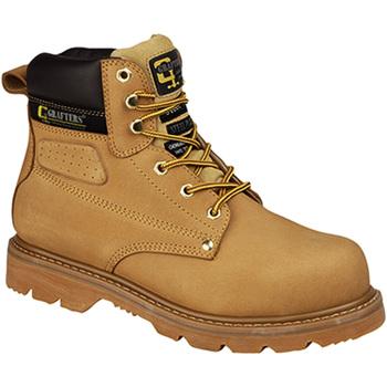 Zapatos Hombre zapatos de seguridad  Grafters  Miel