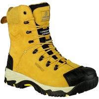 Zapatos Hombre zapatos de seguridad  Amblers FS998 Safety Zips Miel