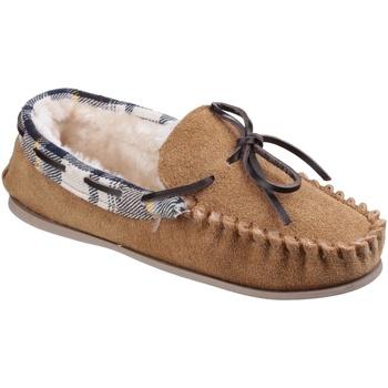Zapatos Mujer Pantuflas Cotswold  Marrón tostado