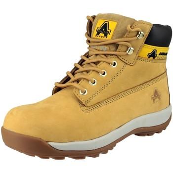 Zapatos Mujer Botas de caña baja Amblers FS102 Safety Miel