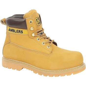 Zapatos Hombre Botas de caña baja Amblers FS7 Miel