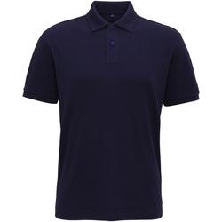 textil Hombre Polos manga corta Asquith & Fox AQ005 Azul marino