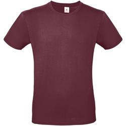 textil Hombre Camisetas manga corta B And C TU01T Burdeos