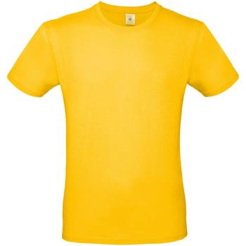 textil Hombre Camisetas manga corta B And C TU01T Oro