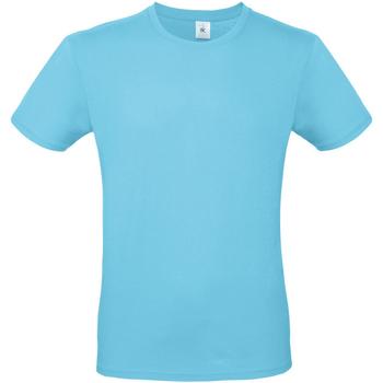 textil Hombre Camisetas manga corta B And C TU01T Turquesa