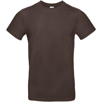 textil Hombre Camisetas manga corta B And C TU03T Marrón