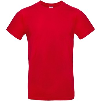textil Hombre Camisetas manga corta B And C TU03T Rojo