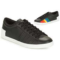Zapatos Mujer Zapatillas bajas Le Coq Sportif FLAG Negro / Multicolor