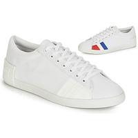 Zapatos Mujer Zapatillas bajas Le Coq Sportif FLAG Blanco
