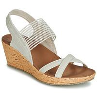 Zapatos Mujer Sandalias Skechers BEVERLEE Beige