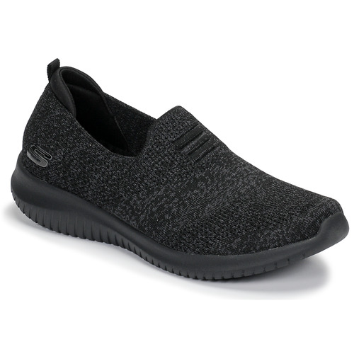 Ultra Zapatos Slip On Skechers Negro Mujer Flex WE9DH2I
