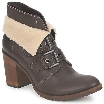 Zapatos Mujer Botines Un Matin d'Ete BRIAC Ebano
