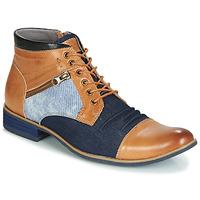 Zapatos Hombre Botas de caña baja Kdopa ALMERIA Camel / Azul