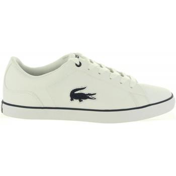 Zapatos Niña Zapatillas bajas Lacoste 36CAJ0013 LEROND 042 WHT-NVY 35 Blanco