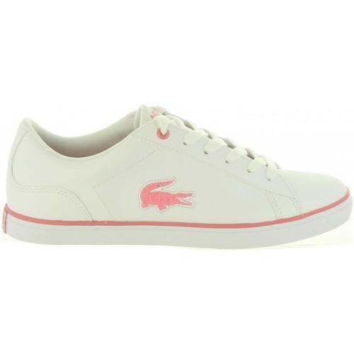 Zapatos Niña Zapatillas bajas Lacoste 36CAJ0013 LEROND Blanco
