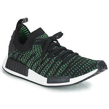 Zapatos Zapatillas bajas adidas Originals NMD_R1 STLT PK Negro / Verde