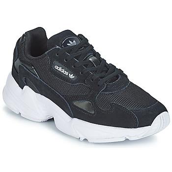 Zapatos Mujer Zapatillas bajas adidas Originals FALCON W Negro