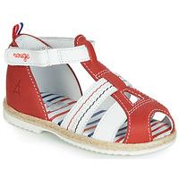 Zapatos Niños Sandalias GBB COCORIKOO Rojo