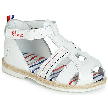 Zapatos Niños Sandalias GBB COCORIKOO Blanco