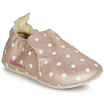 Zapatos Niña Pantuflas Catimini CARA Rosa / Gold