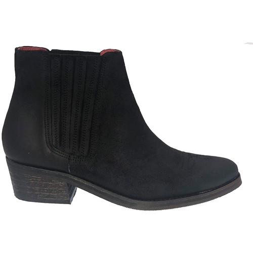 Zapatos Mujer Botines Ngy BOTTINE ALIZEE NOIR Negro