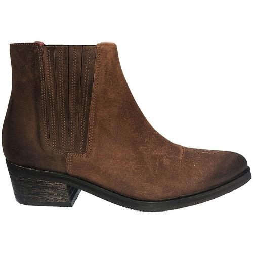Zapatos Mujer Botines Ngy BOTTINE ALIZEE MARRON Marrón