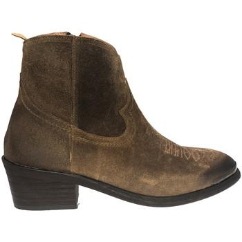 Zapatos Mujer Botines Ngy BOTTINE LEA MARRON Marrón