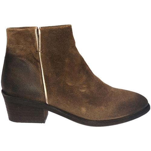 Zapatos Mujer Botines Ngy BOTTINE LIV CAMEL Marrón
