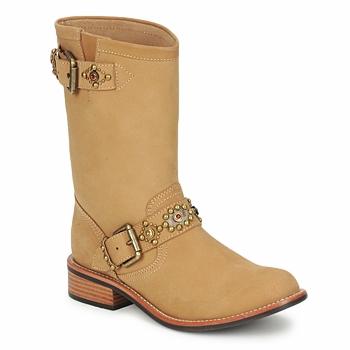 Zapatos Mujer Botas de caña baja Miss L'Fire MCQUEEN Beige