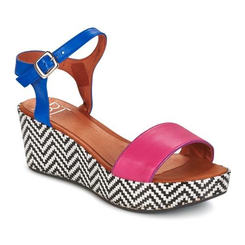 Zapatos Mujer Sandalias Betty London COQUETTE Fucsia / Azul