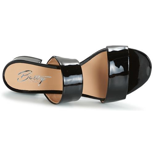 NegroBarniz Bamalea Mujer Zapatos London ZuecosmulesBetty 5FJl13TKcu