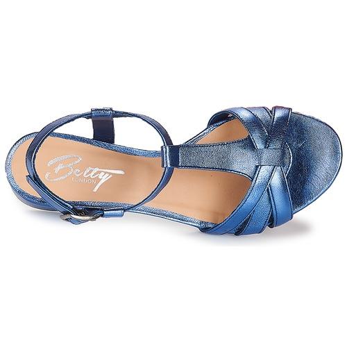Sandalias Zapatos Betty Metissa Azul Mujer London tCxQshrd