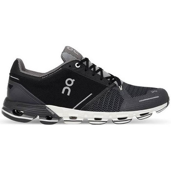 Zapatos Hombre Zapatillas bajas On Running ONFLYER MAN BLACK WHITE Negro