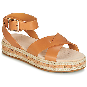 Zapatos Mujer Sandalias Clarks BOTANIC POPPY Marrón