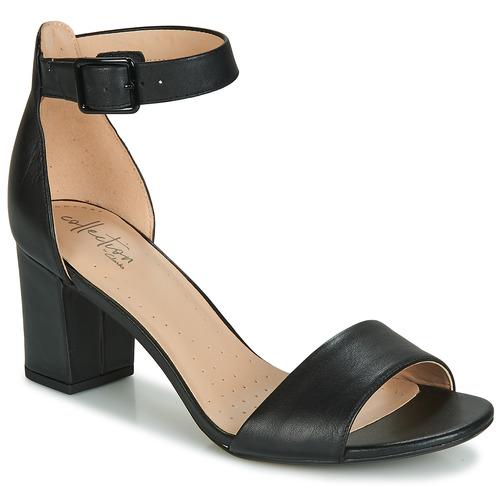 Zapatos Mujer Zapatos de tacón Clarks DEVA MAE Negro