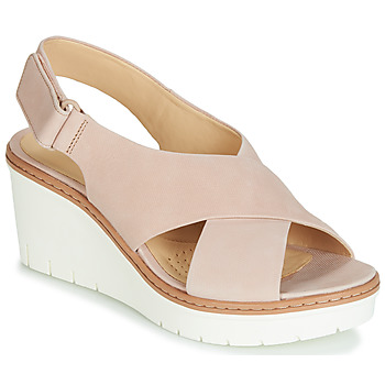 Zapatos Mujer Sandalias Clarks PALM CANDID Nude