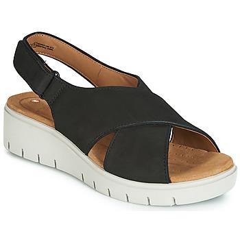 Zapatos Mujer Sandalias Clarks UN KARELY SUN Negro
