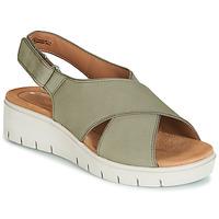 Zapatos Mujer Sandalias Clarks UN KARELY SUN Verde