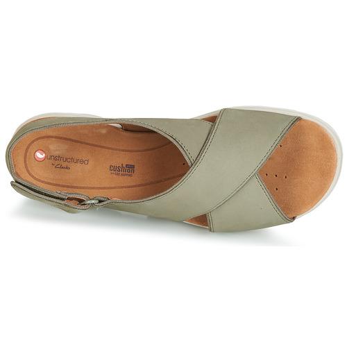 Verde Qwxbdcoree Karely Zapatos Sandalias Mujer Sun Clarks Un gfyb76